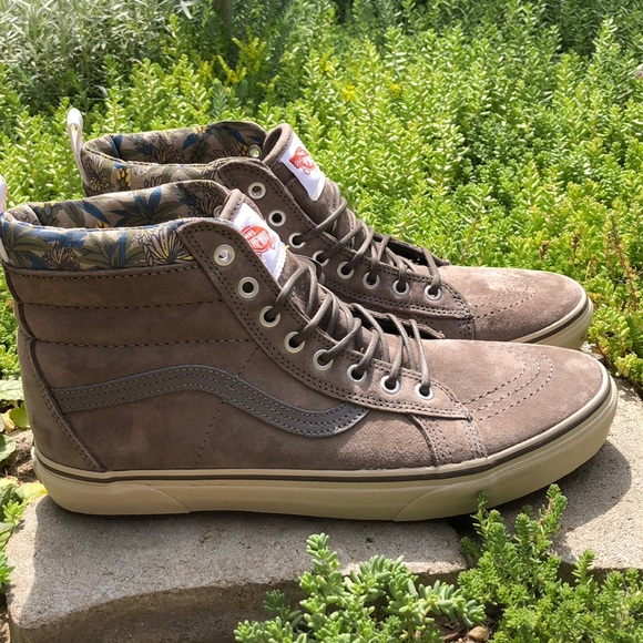 Vans SK8-Hi MTE Leather Bungee Cord Desert Shoes 257a04304